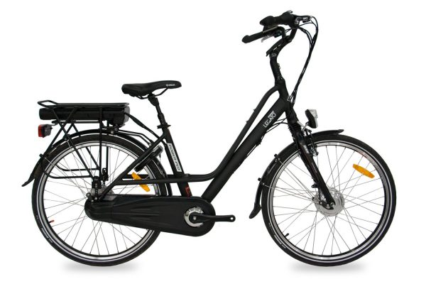 Best Step Through Commuter Electric Bicycle Legato PP (Red/Black/White) 26 inch / Black / 36V 13.6Ah + $100 eBikesPro Australia