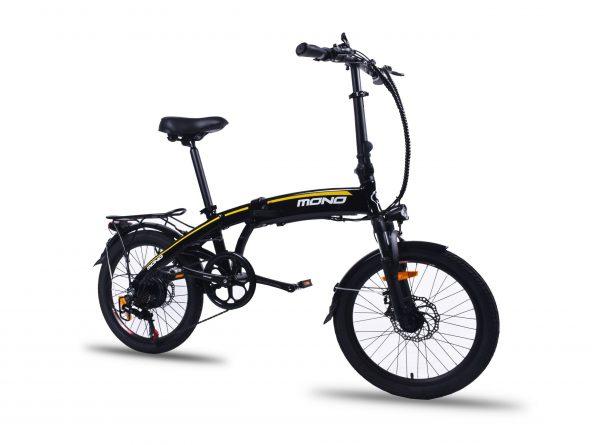 Lightweight Shimano 7 Speed 20 Inch Folding Electric Mountain Bike FD20MY18 SM (Black) Black / 20 inch eBikesPro Australia