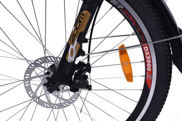 Powerful Step Through 26 Inch City Electric Bike S26MY18 SM (White/Black)  eBikesPro Australia